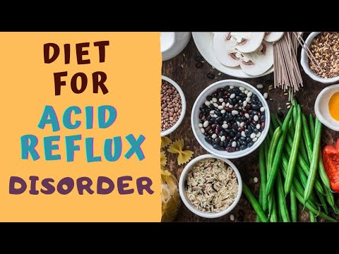 DIET FOR ACID REFLUX DISORDER -5 BEST & 5 WORST Foods for Acidity 5