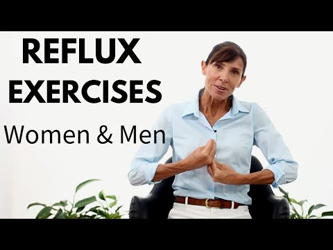 Physiotherapy Reflux Exercises to STOP Heartburn | Breathing Exercises proven to REDUCE ACID REFLUX 2